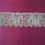 Guarnição de nylon do laço da tela do laço da pestana da forma