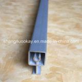 Calificar un perfil de aluminio para los guardarropas y la puerta deslizante de la partición