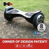 Hoverboard, 2-Wheel, 8-Inch, batterie de LG&Samsung, meilleure qualité et prix avec Bluetooth et la lumière à télécommande et de signal d'échantillonnage