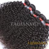 가장 큰 공급자 도매 100% 사람의 모발 Malaysian 곱슬머리