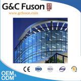 De Gordijngevel van het Glas van het aluminium Met laag Geïsoleerdn Glas
