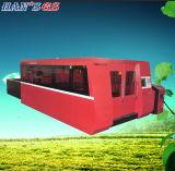 Metallpräzisions-Ausschnitt-Industrie-Laser-Maschine der Faser-2000W für Verkauf