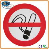 Segnale di pericolo di plastica/scheda non fumatori del segno