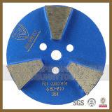Sonniger Diamant-Segment-Metallfußboden-Polierauflage
