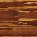 Suelo de bambú sólido de Strandwoven del tigre de Handscraped&Brushed