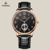 Wristwatch кварца черноты способа Timesea