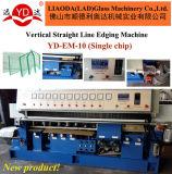 Línea recta vertical máquina de cristal del control numérico MCU del ribete