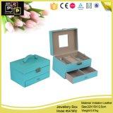 Hola empaquetado blanco de la caja del cilindro de la caja de regalo de la cartulina redonda del color de rosa