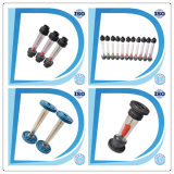 Plastique Eau Liquide Verre Acrylique Air Water Rotameter Flow Meter