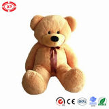 Peluche Huggable do brinquedo do urso do luxuoso grande bege de Stitting