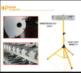 Calentador infrarrojo impermeable inoxidable del calentador portable del cuarzo