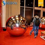 Fábrica al por mayor decorativos Bolas de espejos de plástico inflable Adornos Disco bola de espejo