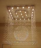 Iluminación del techo de Phine con el buen cristal K9 para el hogar o el hotel