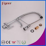 Water Flow Filter Tap를 가진 Fyeer Pull out Spray Kitchen Faucet