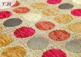 多彩でかわいい点(FTH31024)が付いているシュニールのジャカードソファーファブリック