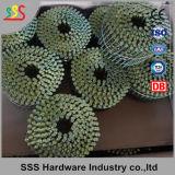 Ring-Nagel-Ladeplatten-Ring-Nägel des Ladeplatten-schraubenartige Ring-Nagel-2.5mm/Wire/Plastik gemischte Ring-Nägel