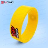 Modifica senza contatto del cinturino del braccialetto del Wristband del silicone di identificazione RFID di CI