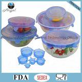 Горячая крышка еды силикона кухни, крышка простирания силикона, SL16