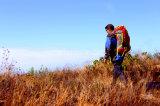 屋外のハイキングのバックパック、女の子のためのキャンプのナイロンバックパック