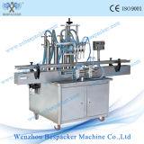 액체를 위한 대 유형 자동적인 4개의 분사구 충전물 기계