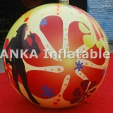 Globos inflables del helio de la venta al por mayor de la insignia de la impresión para el uso comercial