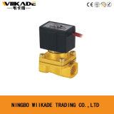 Elettrovalvola a solenoide d'ottone normalmente chiusa Vx2120-15 1/2 ''