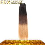 Сапка 2016 продавая волос индийского людского цвета выдвижений 3t волос девственницы прямые