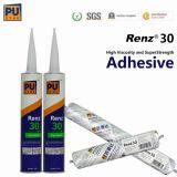 Puate d'étanchéité corrigeante rapide de polyuréthane pour l'adhérence en verre de véhicule (RENZ 30)