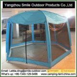 六角形の側面の庭のカの保護カバーパビリオンのテント