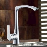Modernes Design Polished und Chrome Plated Brass Kitchen Sink Taps