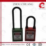 Long cadenas en nylon non-conducteur de sûreté de corps d'ABS de jumelle
