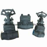 조여지는 위조된 강철 또는 Sw 게이트 밸브