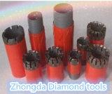 Пропитанная сверло-коронка d диаманта размер Nq Dcdma, Hq, сверло-коронка Pq