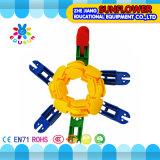 Het Intellectuele Speelgoed van het Speelgoed van Bouwstenen, het Kleurrijke Plastic Speelgoed van de Desktop van het Stuk speelgoed van de Blokken van het Bureau