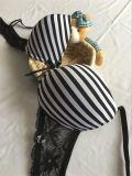 Conjunto de sujetador de tira de precio de fábrica para sujetador sexy de niña (CS16907)