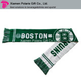 Promotion Spandex Sports Knitted Scarf Fan Silencieux avec logo Jacquard