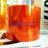 Film rigide orange de PVC de qualité pour l'emballage des médicaments d'ampoule