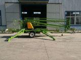 Vector de elevación montado hidráulico diesel aéreo del auge del acoplado