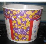 Wegwerfbares PET Coated 130oz Fried Chicken/Popcorn/Nehmen-Away Food Paper Cup/Paper Bucket
