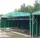 Ткань холстины PVC водоустойчивая для крышки шатра/Tabernacle/тележки