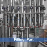 Planta de embotellamiento de consumición automática del agua mineral