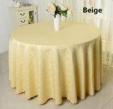 上品なポリエステル宴会のテーブルクロス