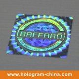 Collants évidents d'hologramme de laser de bourreur de nid d'abeilles
