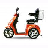 Brandkast die Autoped Met drie wielen, Elektrische van de Mobiliteit van 3 Wiel de Elektrische voor Oude Mensen drijven (tc-016 met luxezadel)