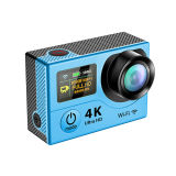 WiFi 4k Waterproof Action Sports Camera H3r con Ultra Dual Screen e Remote Control