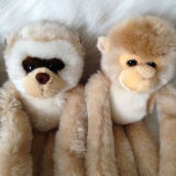 Jouet populaire fait sur commande de peluche de cadeau de gosses de la CE pelucheuse molle de gorille