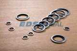 Metal Usit-Ring Bonded Seals에 Self-Centering Type Rubber