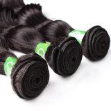 実質の毛の拡張取除くブラジルの毛のバージンの波状毛無し