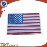 Pin американского флага изготовленный на заказ эмали металла мягкой красивейший (FTFP1606A)