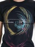 عالة بالجملة قطن نمط تصميم شاشة يطبع فصل صيف رجل [ت] قميص